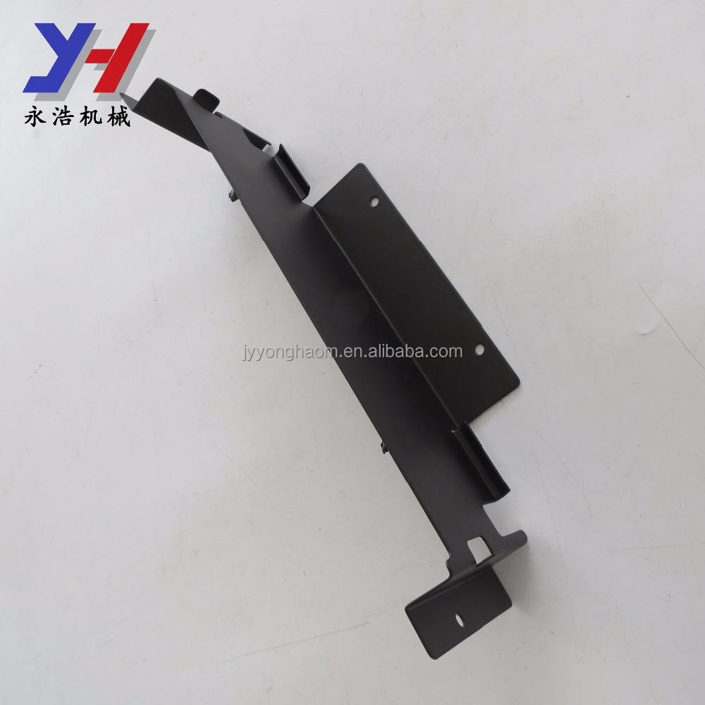 Custom made stamping stainless steel android hybrid set-top box bracket fittings