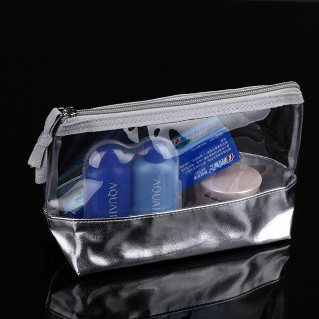 Audit Walmart e <span class=keywords><strong>Avon</strong></span> rifornimento della fabbrica Su Misura di plastica trasparente sacchetto della chiusura lampo borse IN PVC con cerniera