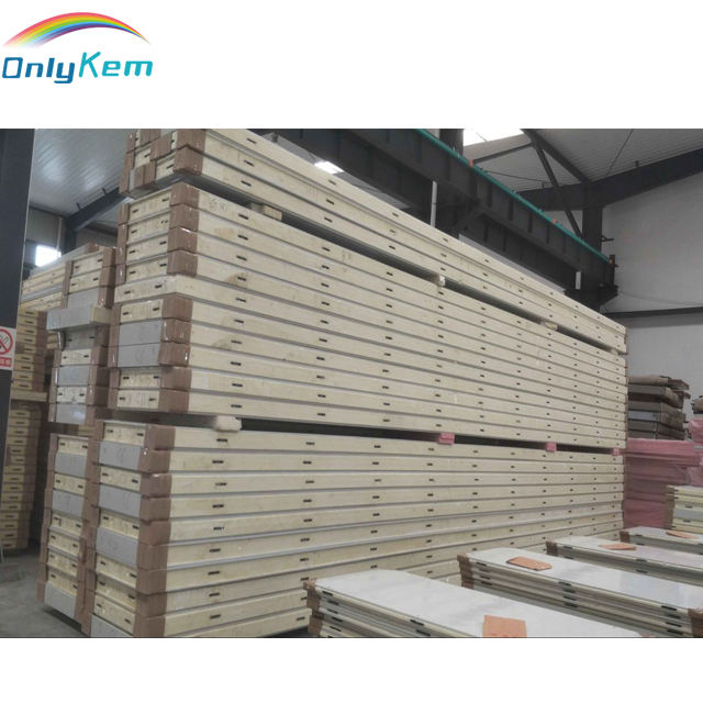 Freezer Cold Storage panel / cool room Polyurethane / PU Sandwich Panel with cam lock