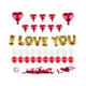 Red Heart Foil Balloon I Love You Girl For Valentine's Day Gifts Idea Wholesale Valentine Decorations Balloon Kit