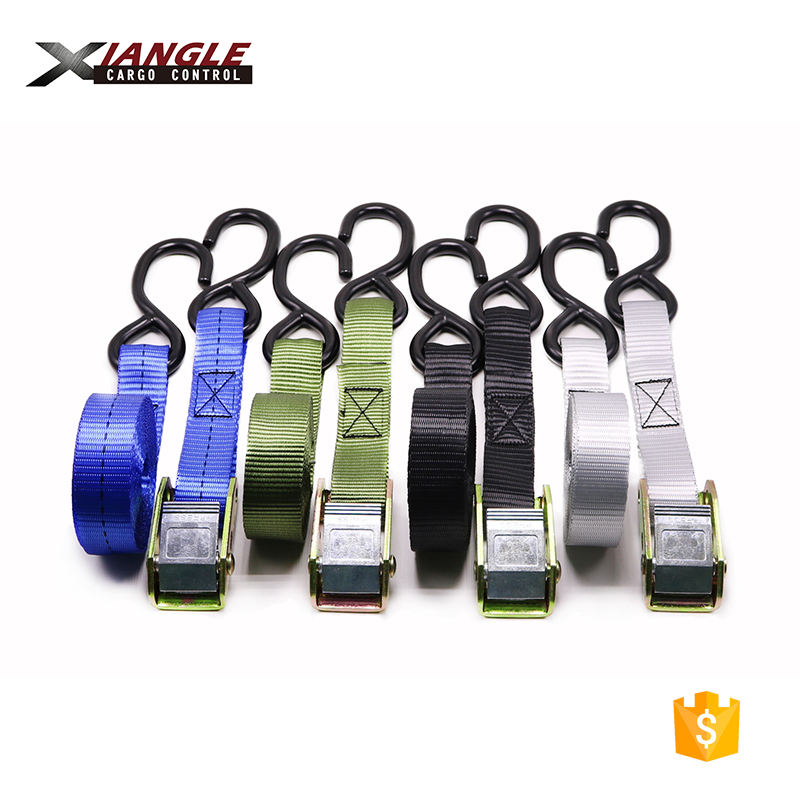 Premium Quality cam buckle lashing straps with hooks and with or without keeper for Surfboards Paddle Boards Kayaks and Canoes
