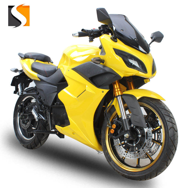 cheap electric super sport motorcycle DP adult 72V3000W electric ceclassic motorbikes high speed electric motorcycle sports