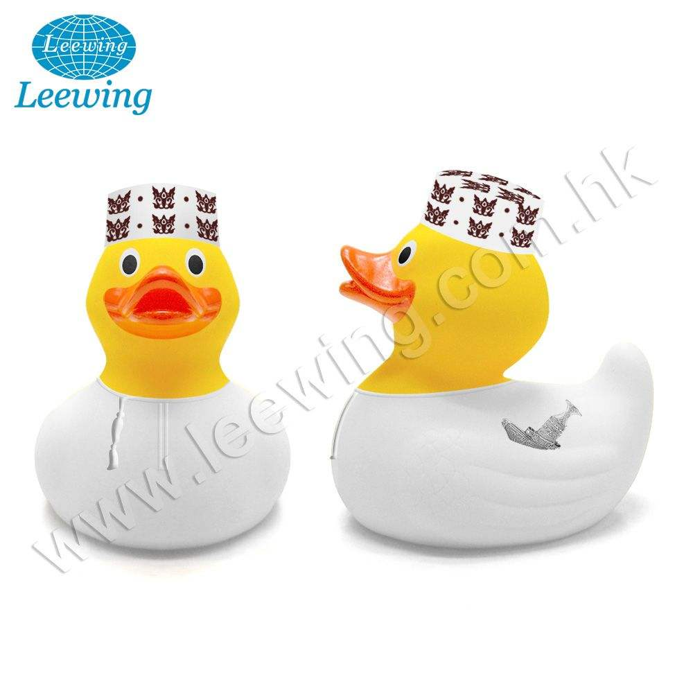 Classic Promotional Country Costume Omani Cap Yellow Rubber Bath Duck