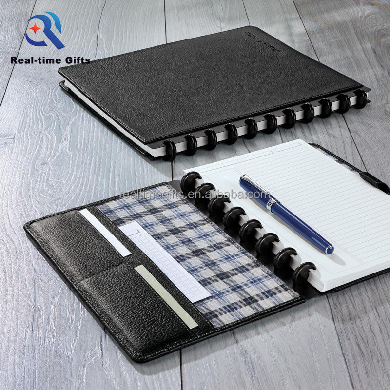 Exquisite Spiral A5 PU Leather Notebook Organizer Planner