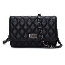Factory direct sale chain handbag sheepskin cross-body shoulder bag quilted genuine leather cross body bag