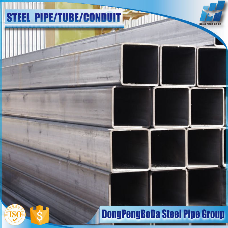 Iso Hollow Rectangular Section Black Rectangular Hollow Section Steel Pipe Weight Per Foot