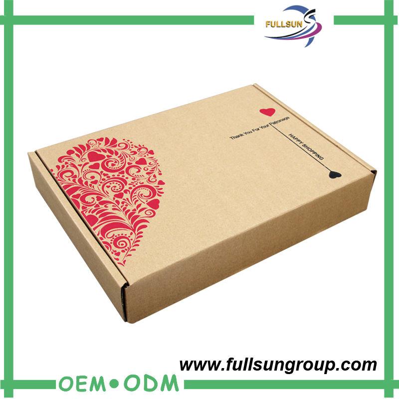중국어 심천 외부 판지 상자 골판지 상자 폐기물