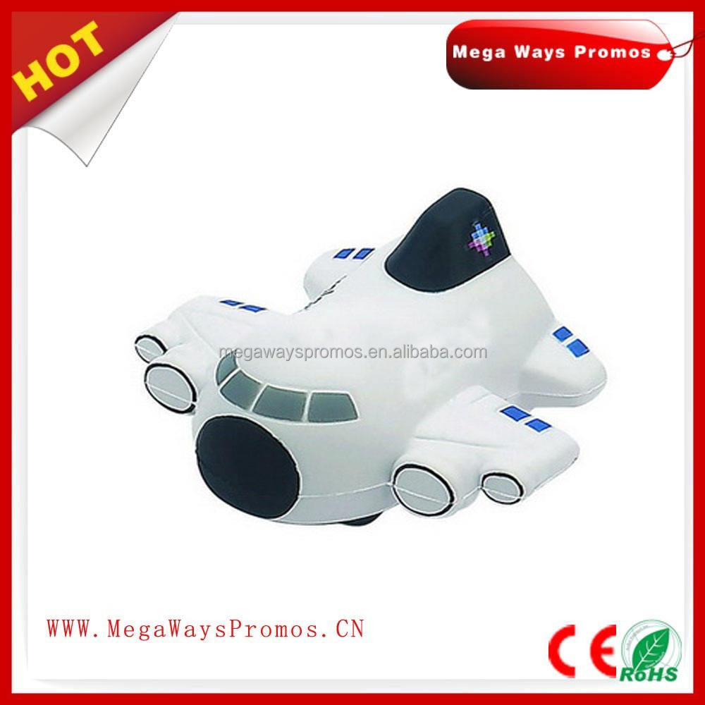 Pu mousse jouet doux jouet Transporteur avion