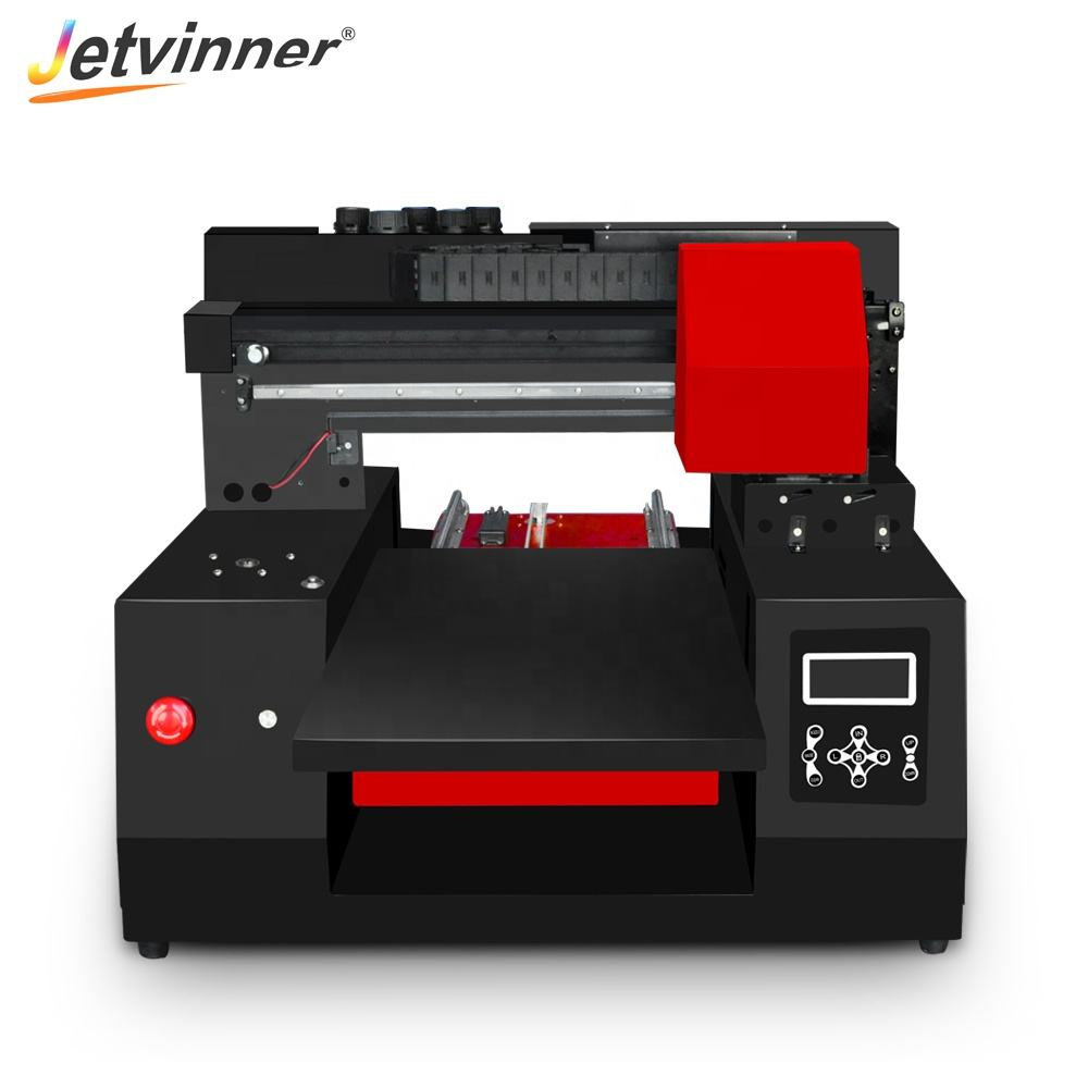 Jetvinner Industrial 3060 size uv printer fast speed flatbed printing led printing machine