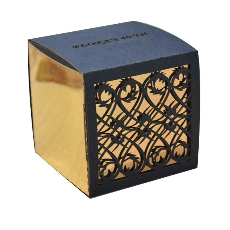 Mery custom filigree wedding gift favor box vintage party supplies