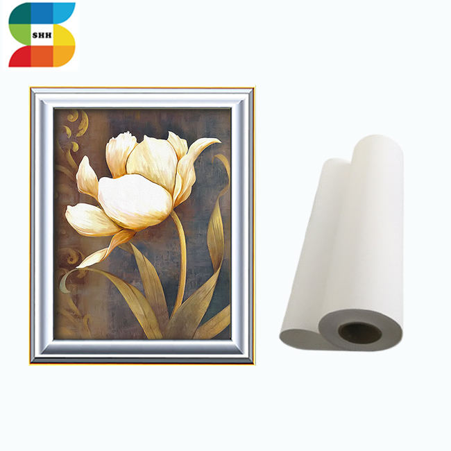Printable Fine Art Cotton Canvas Roll