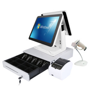 Scherm Retail Pos Systeem Kassier Registreren Touch Screen Pc Kassa Machine Kassier Machine