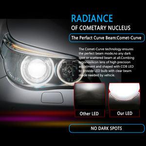 Fydun L/ámpara de niebla H3 Luces de antiniebla delantero del coche brillante Blanco 6000K Luz de niebla Bombilla 12V 10W 2Pcs