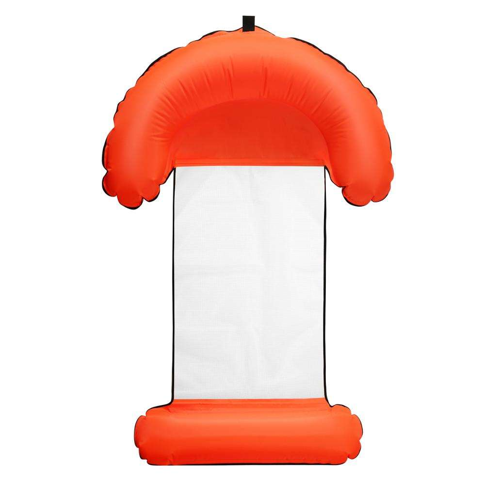 Inflatable pool accessories, 4-in1- Multi-Purpose Inflatable Pool Float and Swimming floating bed