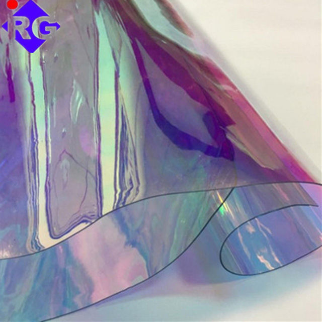Customized Composite PVC TPU PET Optional Color High Adhesion Reflective Dichroic Film Mylar