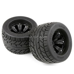 165*105mm Wheels/Tires For 1/8 RC Monster Off Road Truck