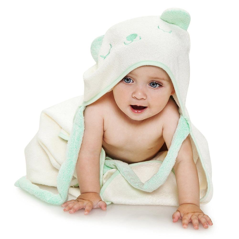 2020 new product custom wholesale organic bamboo hooded baby towel