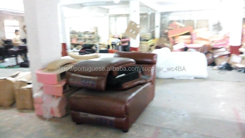 Lady Boy poltrona de couro sofá na China LS-602