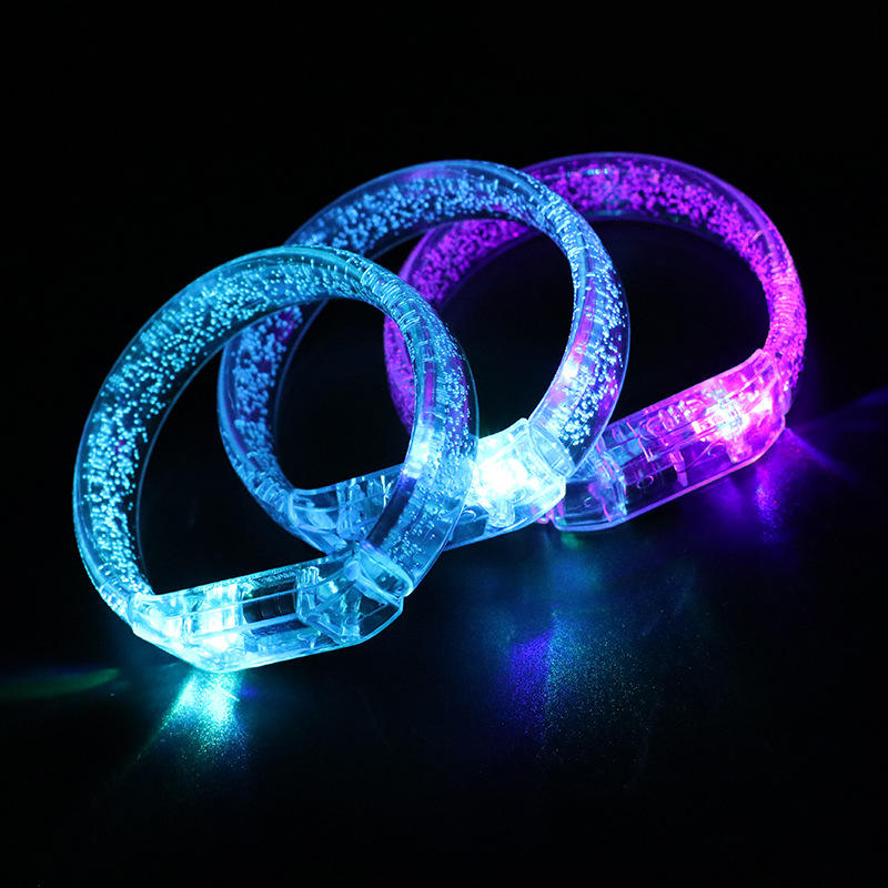 New Activated LED Wristband Flashing LED Bracelet