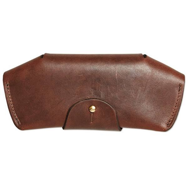 Vegetable Tanned Leather Glasses Case Sunglasses Holder Leather