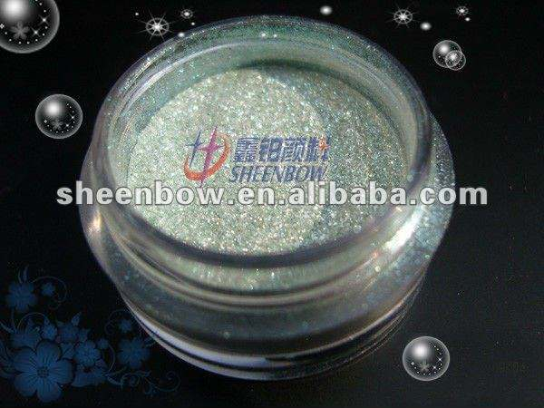 Pearl pigment powder for hair color pigment