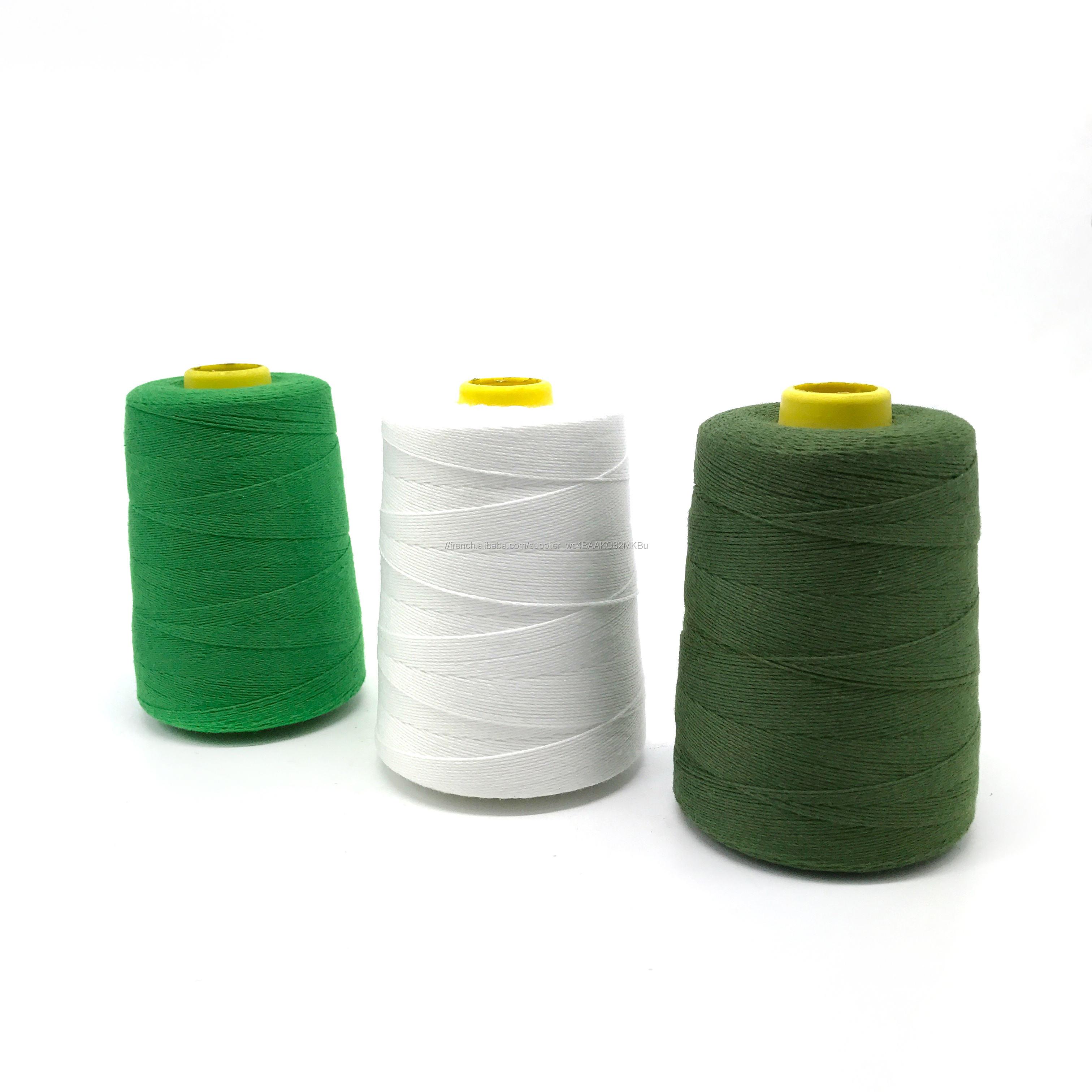 100 filé polyester sacs à coudre fil pour <span class=keywords><strong>farine</strong></span> de riz usine