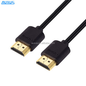 New gold plated slim HDMI cable with ethernet for HD TV's / Xbox 360 / PS3 / Playstation 3 / SkyHD