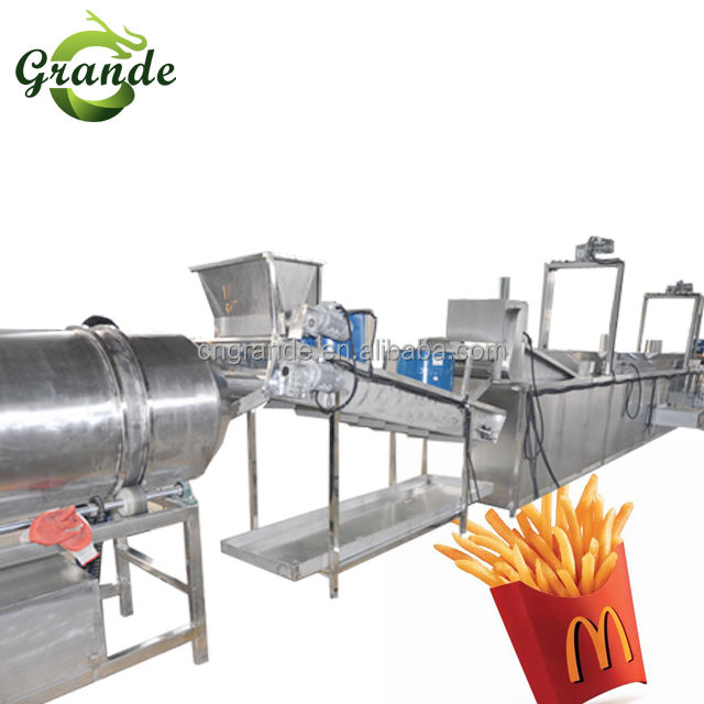 Grande Best Selling Complete Line for Frozen French Fries