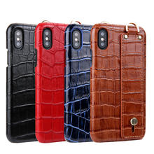 100% Genuine Crocodile Leather Hand Made Elegant Premium Mobile Phone Case for iPhone XS