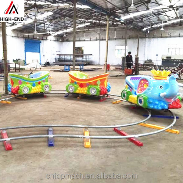 Factory supply playground equipment for kids on sale train/electric ride on train