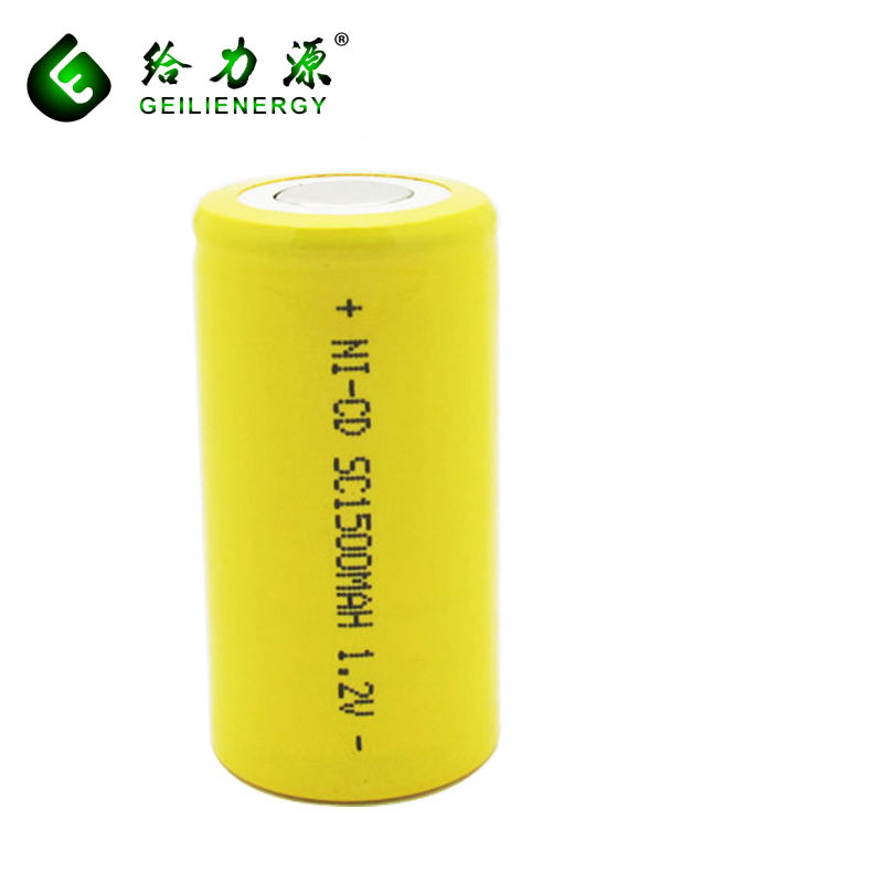 <span class=keywords><strong>Sạc</strong></span> <span class=keywords><strong>ni</strong></span> <span class=keywords><strong>cd</strong></span> 1.2 v SC 1500 mah Battery Pack