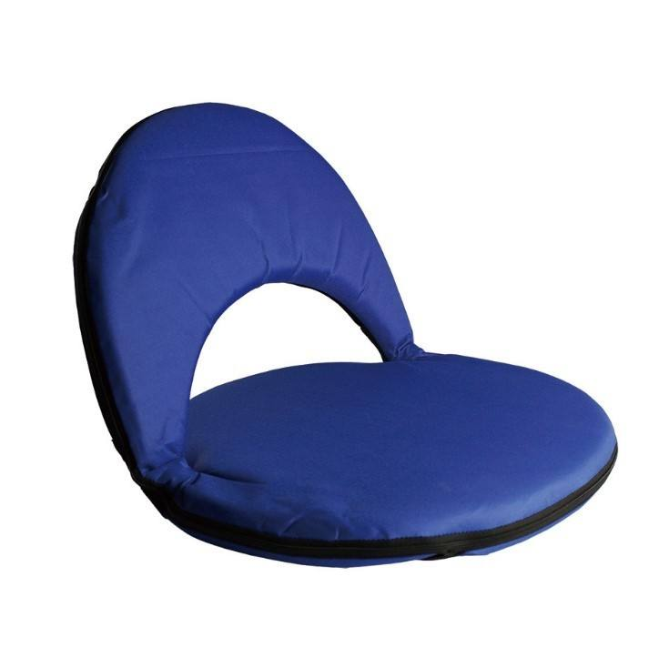 Low Price colorful portable fabric folding sofa floor legless chair