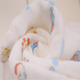 Newborn baby muslin swaddle 100% cotton fabric for baby blanket infant square wrap