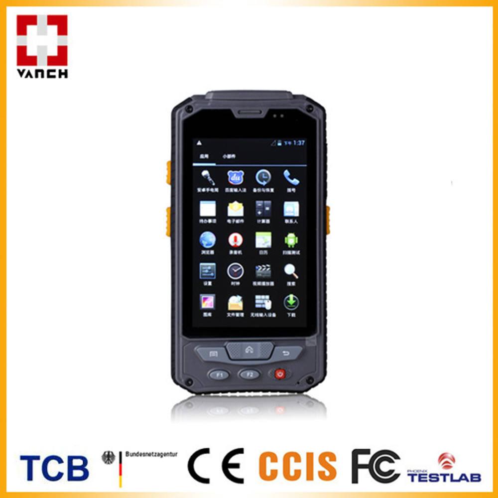 4.3 인치 안드로이드 WVGA 디스플레이 4.03 RFID 핸드 헬드 리더 슈퍼마켓 재고 재고 관리
