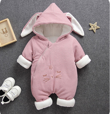 New Arrival 2018 Warm Organic Cotton Baby Jumpsuit Outfit Baby Wear