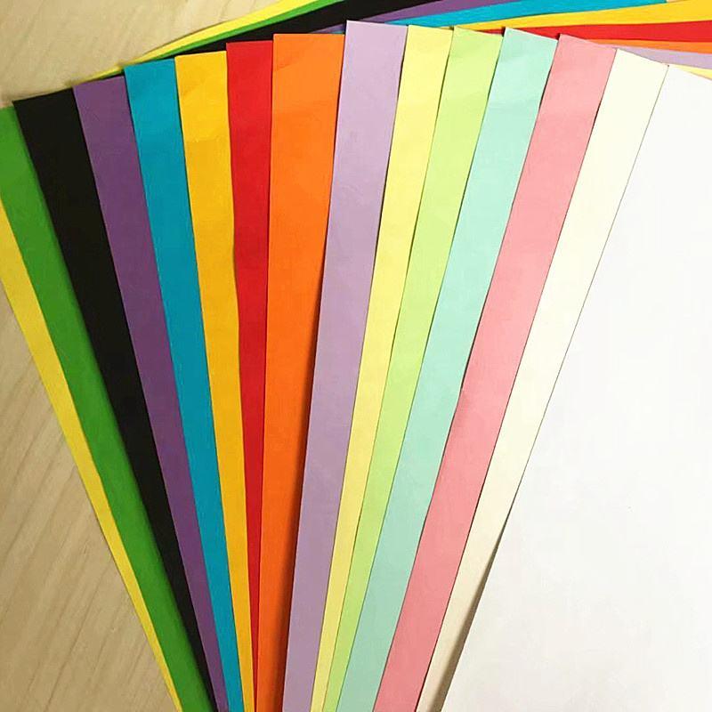 Размер цветной бумаги