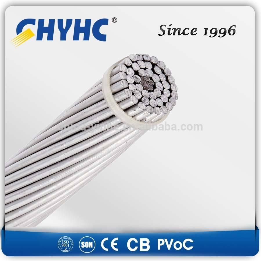Los fabricantes chinos de ACSR/AW aluminio <span class=keywords><strong>conductores</strong></span>, de aluminio revestido de acero reforzado <span class=keywords><strong>acs</strong></span> 7no. 6 awg