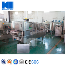 Automatic yogurt / jam / ice cream cup Filling and sealing machine price cost