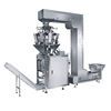 Full Automatic Weighing 1kg 2kg 5kg Rice / Sugar / Granular / Puffed Food Packing Machine