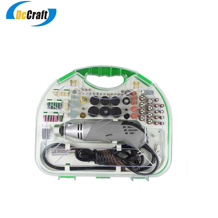 Customized Manufacturer Variable Speed Dremel Rotary Tool Kit with CE and ISO9001 Certificates