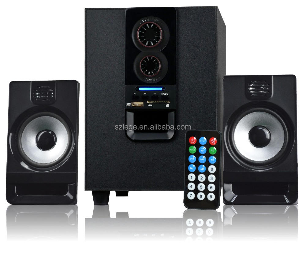 2.1 kotak untuk home theater 20 w subwoofer amplifier speaker dj speaker