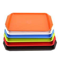 Cheap price plastic fast food melamine serving tray rectangular plastic planter trays