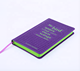 China Note Note Book China Supplier High Quality Transparent Rubber Note Book Planner Agenda