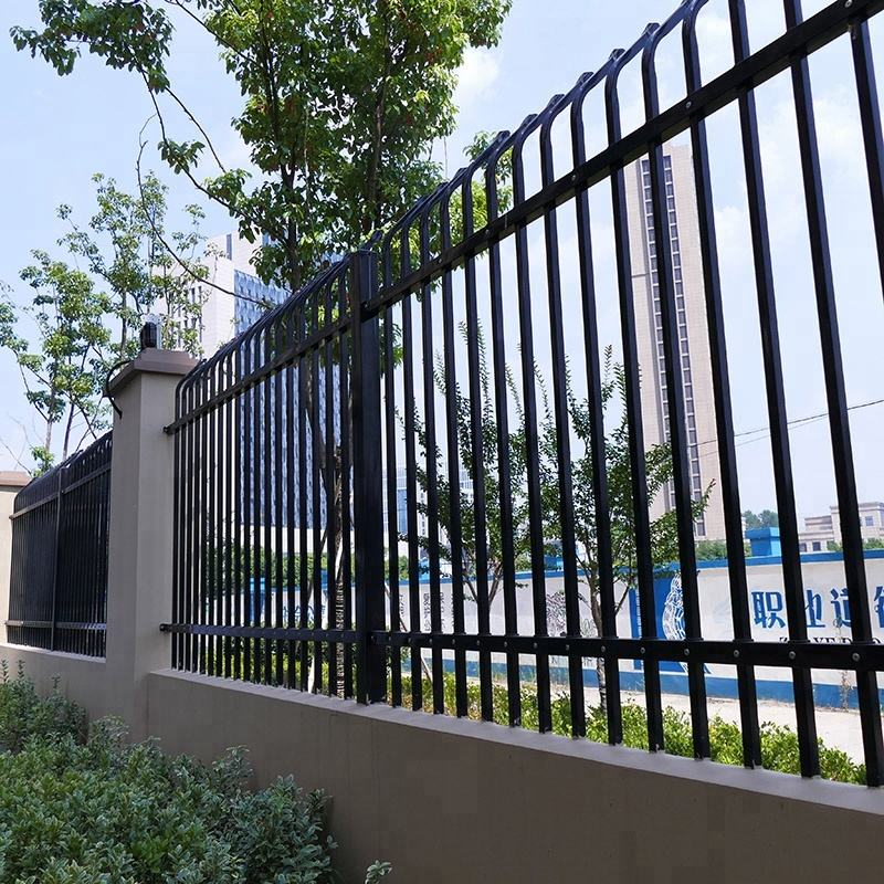hot sale used garden fencing panels modern metal fence post design