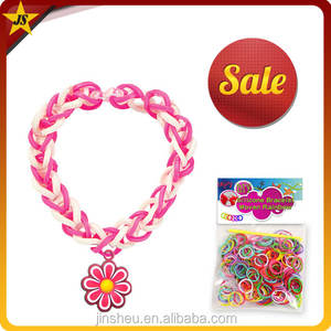 Wholesale cheap crazy fun loom rubber bands and bracelet