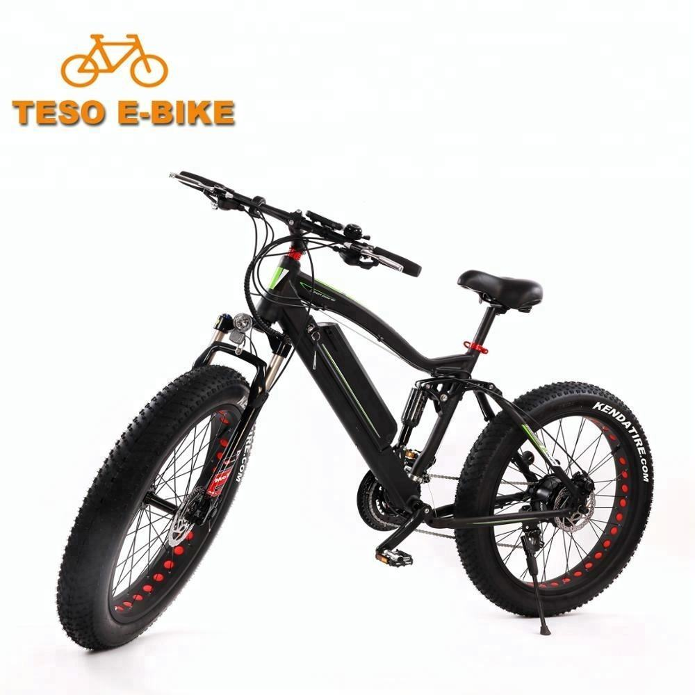 wholesale Hot selling 26 inch 48v 750W/1000w high power brushless hub motor fat tire ebike for different terrain fat bike elect
