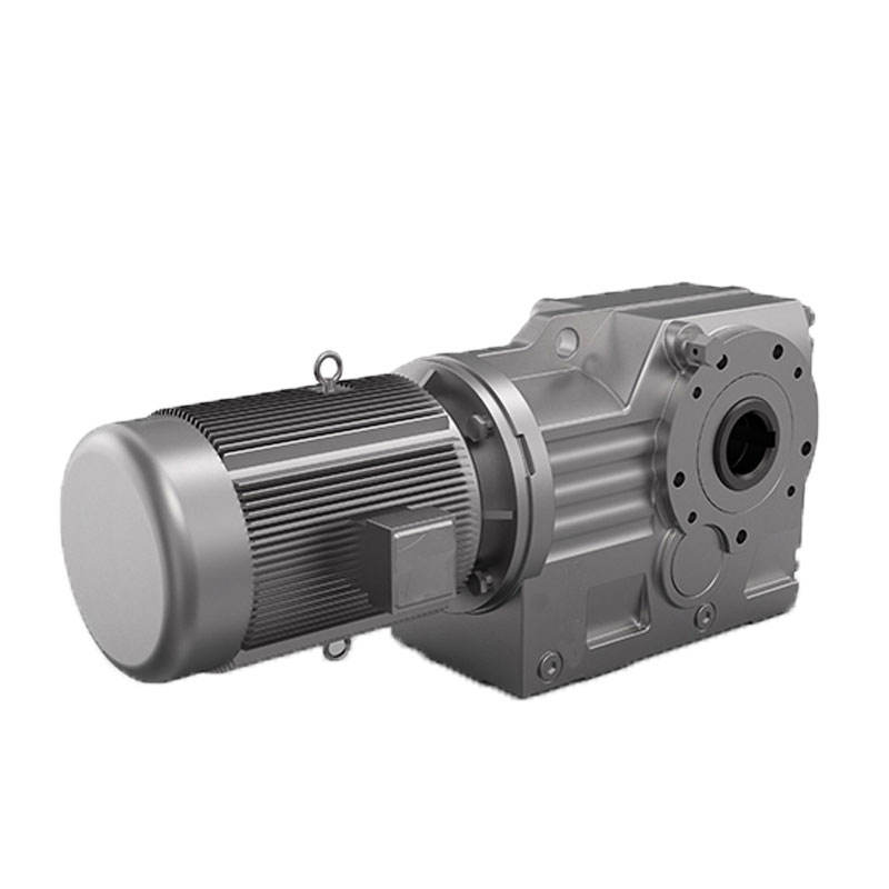 High torque K series helical bevel gear motor reduction gearbox
