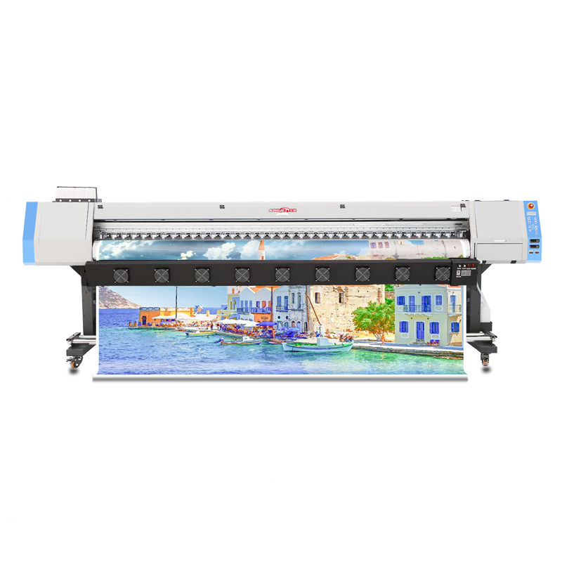 KJ-1601S 1.6 M Impressora Auto Sticker Xp600 Eco Solvent <span class=keywords><strong>Printer</strong></span>