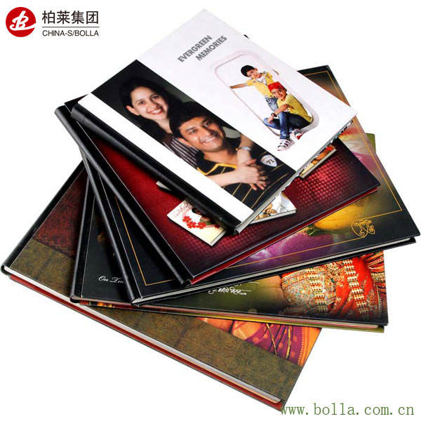 Luxury Custom Hardcover Color Printing Photo Book Printing