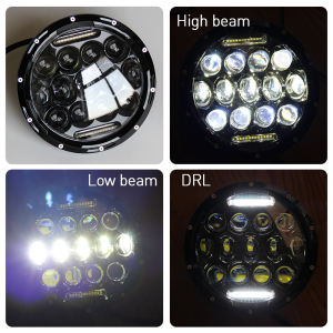 Barato E Marca-DOT SAE E-MARK Angel Eye DRL Luzes Redondas 7